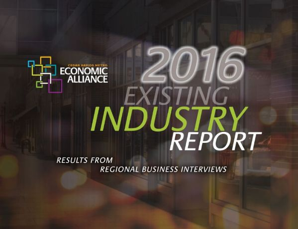 2016 Existing Industry Report graphic